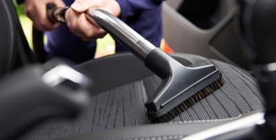 車内外の清掃